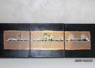 Tableau Artanga – 30 x 90, réalisé par l'artiste Ninu's Gallery, art contemporain