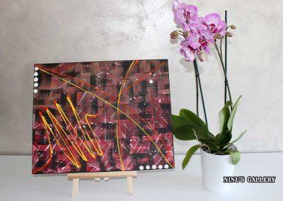 Tableau Sunnya – 40 x 50, réalisé par l'artiste Ninu's Gallery, art contemporain
