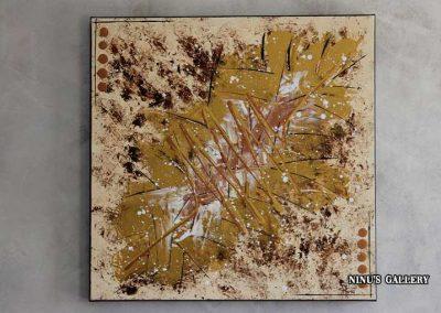 Tableau Browy – 60 x 60, réalisé par l'artiste Ninu's Gallery, art contemporain
