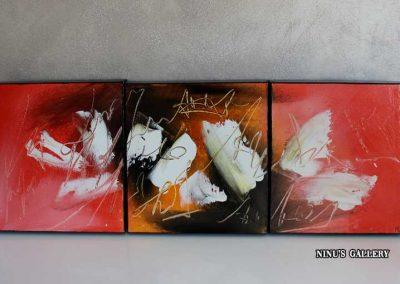 Tableau Libellia - 30 x 90, réalisé par l'artiste Ninu's Gallery, art contemporain