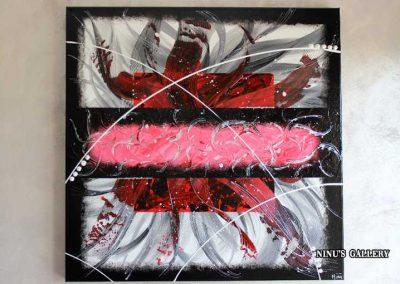 Tableau Postop - 80 x 80, réalisé par l'artiste Ninu's Gallery, art contemporain
