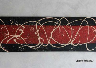 Morgan de toi – 40 x 120, réalisé par l'artiste Ninu's Gallery, art contemporain