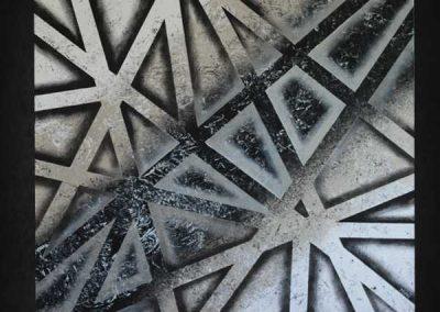Tableau Primo – 80 x 80, réalisé par l'artiste Ninu's Gallery, art contemporain