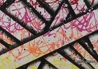 Tableau Pully – 60 x 80, réalisé par l'artiste Ninu's Gallery, art contemporain