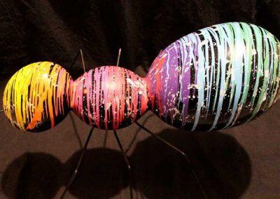 Sculture NINU's ANT, réalisé par l'artiste Ninu's Gallery, art contemporain
