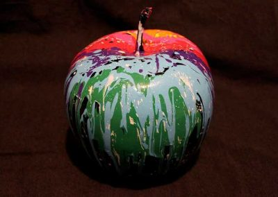 Sculture NINU's APPLE, réalisé par l'artiste Ninu's Gallery, art contemporain
