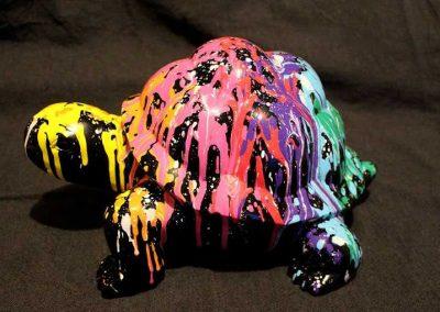 Sculture NINU's TURTLE, réalisé par l'artiste Ninu's Gallery, art contemporain