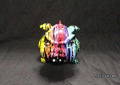 Sculture NINU's TOON, réalisé par l'artiste Ninu's Gallery, art contemporain