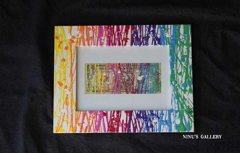 NINU'S DOLLAR N°3- 18 x 23