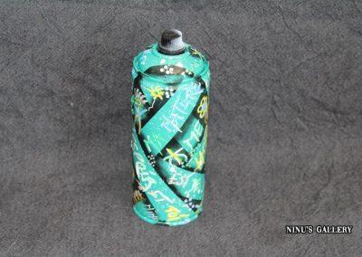 Bombe NINU's BOMB GREEN, réalisé par l'artiste Ninu's Gallery, art contemporain