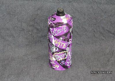 Bombe NINU's BOMB PURPLE, réalisé par l'artiste Ninu's Gallery, art contemporain