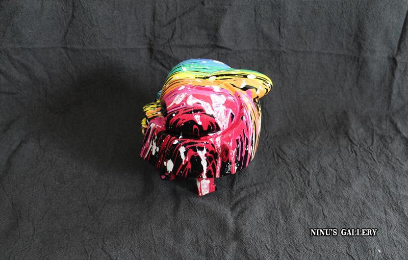 Sculture NINU's CAT, réalisé par l'artiste Ninu's Gallery, art contemporain