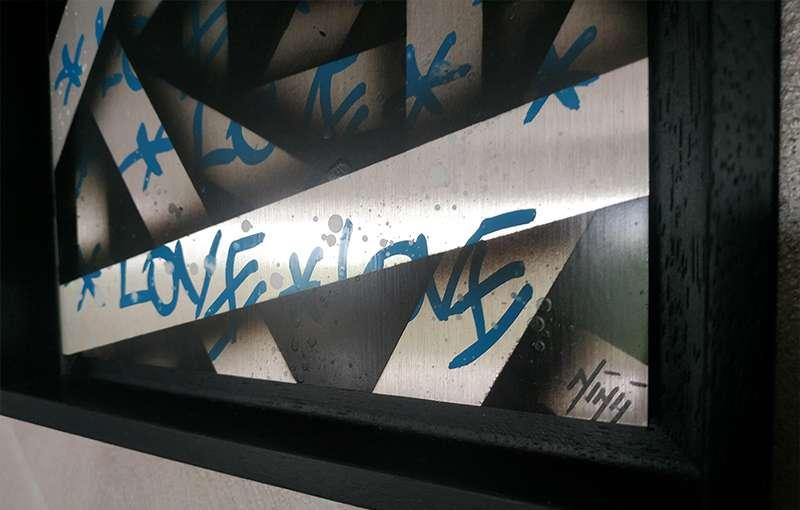 Alu Love Blue
