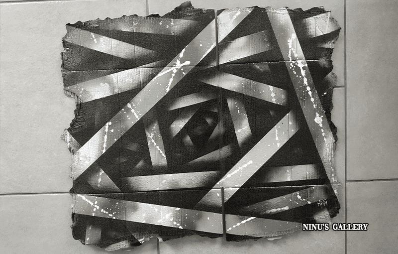 Cardboard Black