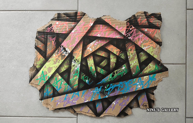 Cardboard Star Color